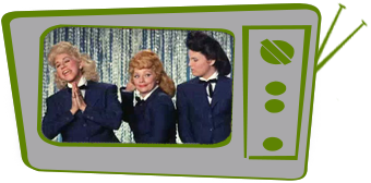 Lucy and the Andrews Sisters