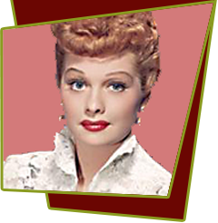 Lucille Ball TV Show Characters