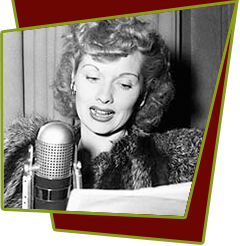 Lucille Ball Radio Career